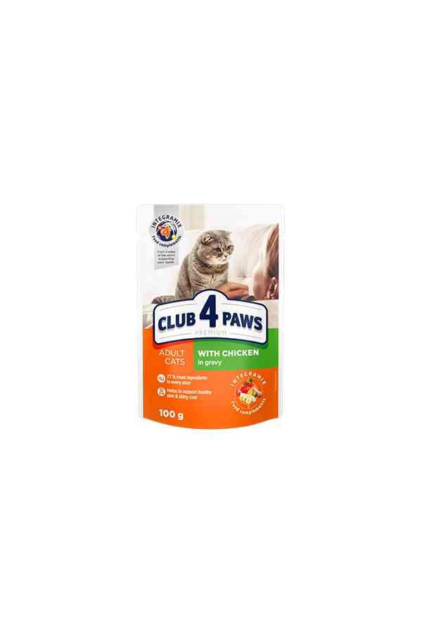 Club 4 Paws Kurczak w Sosie Kot 100 g