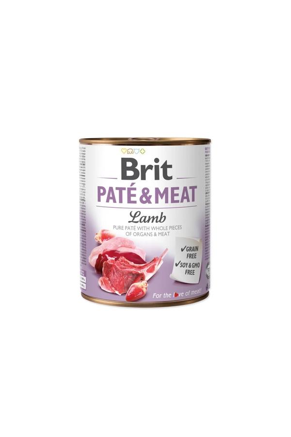 Brit Pate & Meat Lamb Jagnięcina 800 g