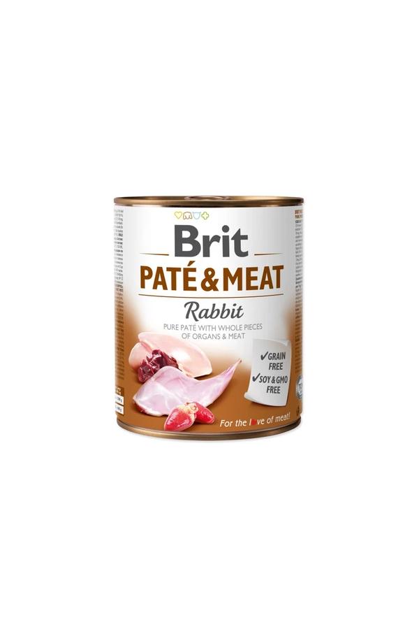 Brit Pate & Meat Rabbit Królik 800 g