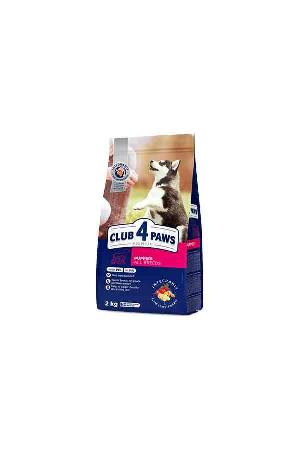 Club 4 Paws dla Szczeniąt z Kurczakiem 0,4 kg