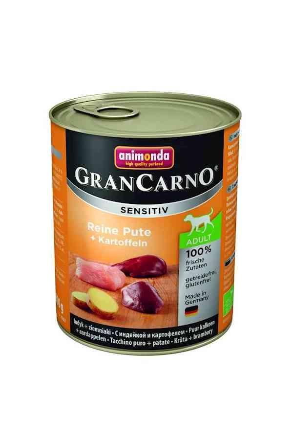 Animonda grancarno sensitiv adult indyl z ziemniakami 800 g