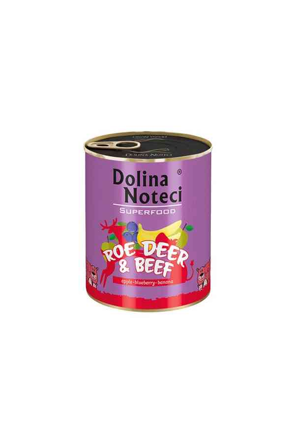 Dolina noteci superfood sarna i wołowina 800 g