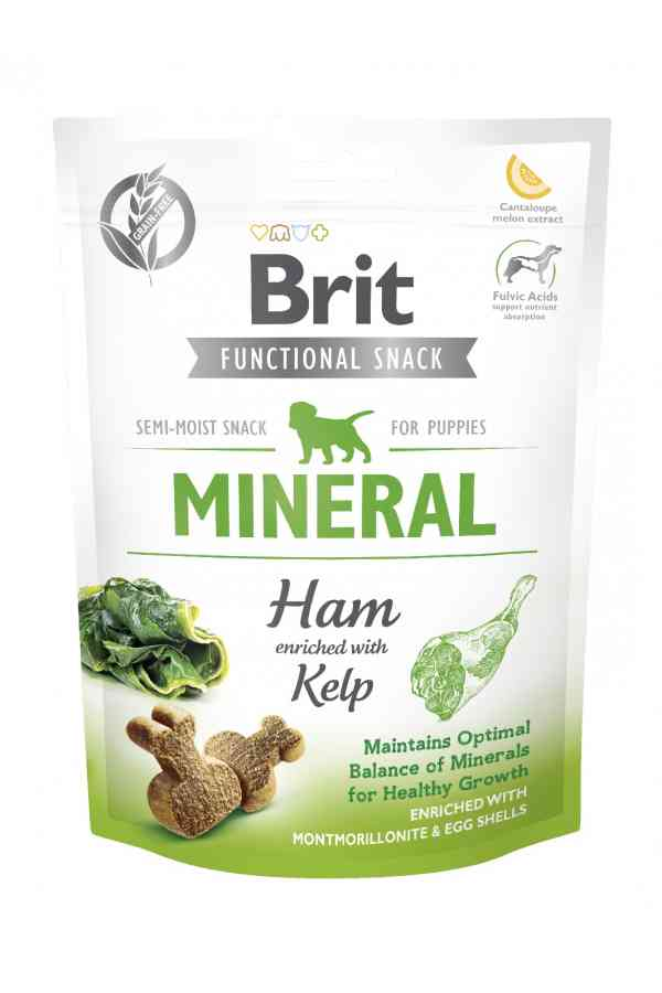Brit care functional snack puppy mineral ham