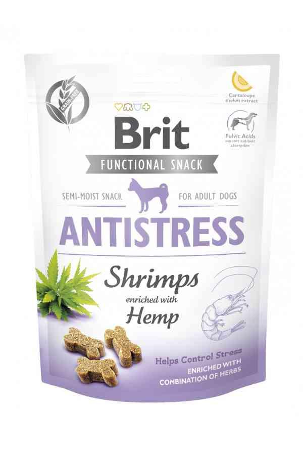 Brit Care Functional Snack Antistress Shrimp Krewetki 150 g