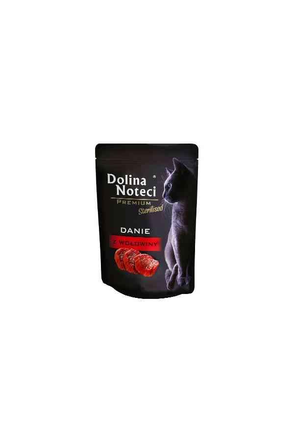 Dolina Noteci Premium Danie z Wołowiny Sterilised Kot 85 g