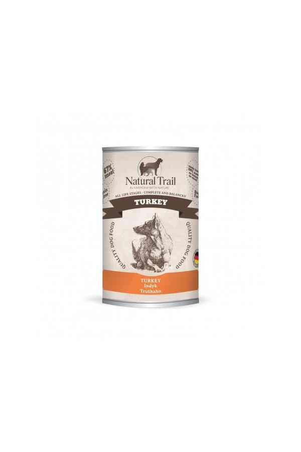 Natural Trail Indyk Bezzbożowa 400 g