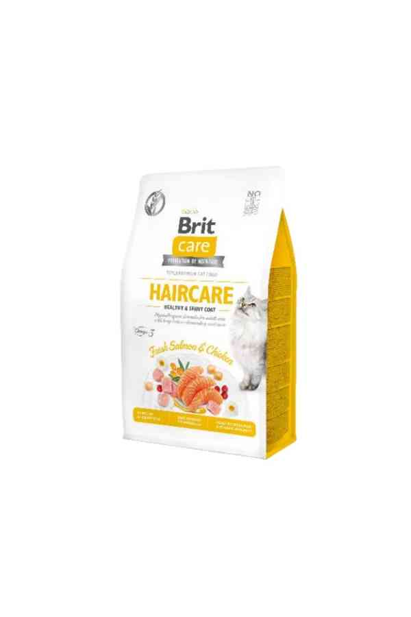 BRIT Care Grain Free Adult Haircare z Łososiem 2 kg