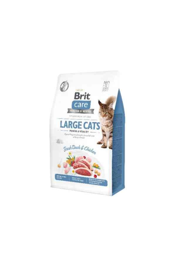 BRIT Care Grain Free Adult Large Cats z Kaczką i Kurczakiem 7 kg