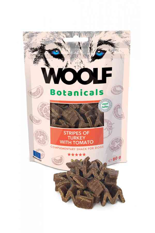 Woolf Botanicals Turkey Stripes with Tomato Indyk Pomidory 80 g