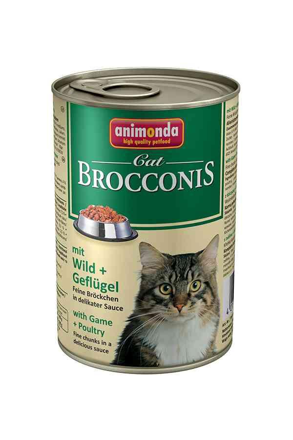 Animonda brocconis dziczyzna z drobiem 400 g