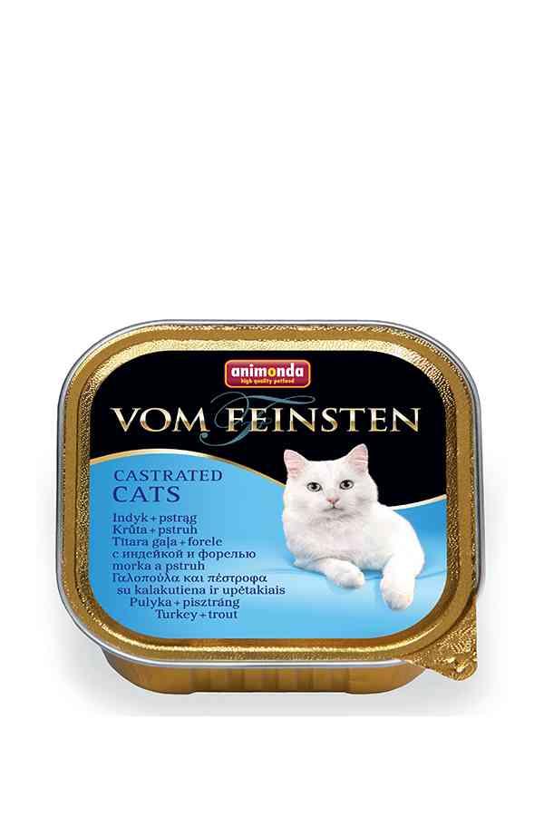 Animonda Vom Feinsten Indyk z Pstrągiem Castrated Cats 100 g