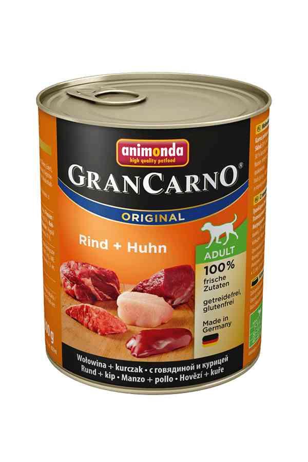Animonda grancarno wołowina z kurczakiem 800 g