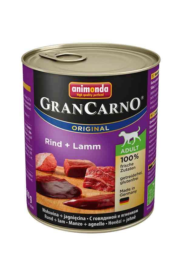 Animonda grancarno wołowina z jagnięciną 800 g