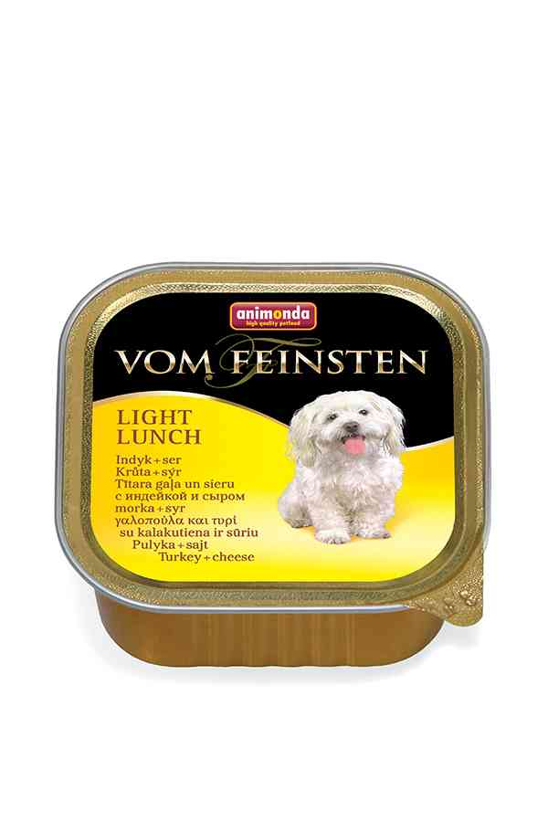 Animonda vom feinsten light lunch indyk z serem 150 g