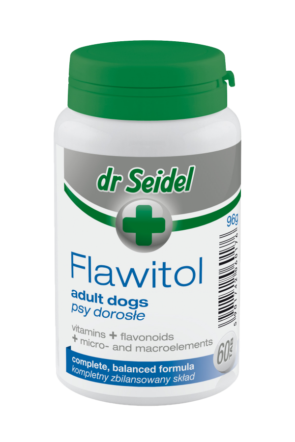 Dr Seidel Flawitol dla Psów Dorosłych 200 Tabletek